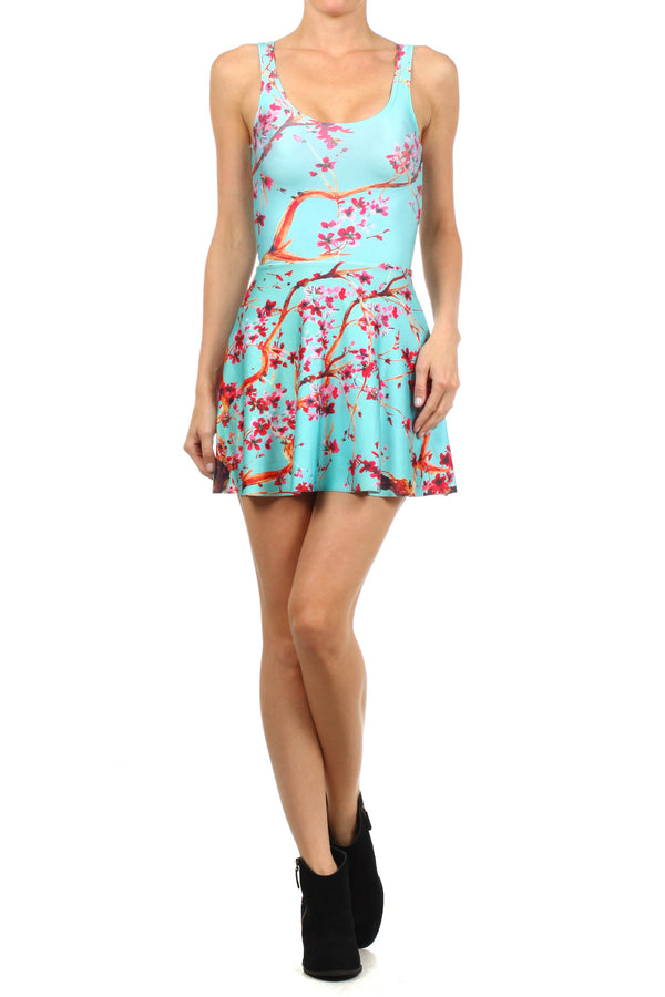 AZ Iced Tea Skater Dress - POPRAGEOUS  - 1