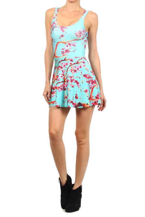 AZ Iced Tea Skater Dress - POPRAGEOUS  - 2