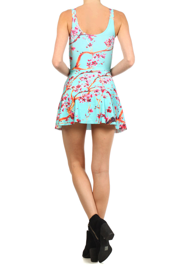 AZ Iced Tea Skater Dress - POPRAGEOUS  - 4