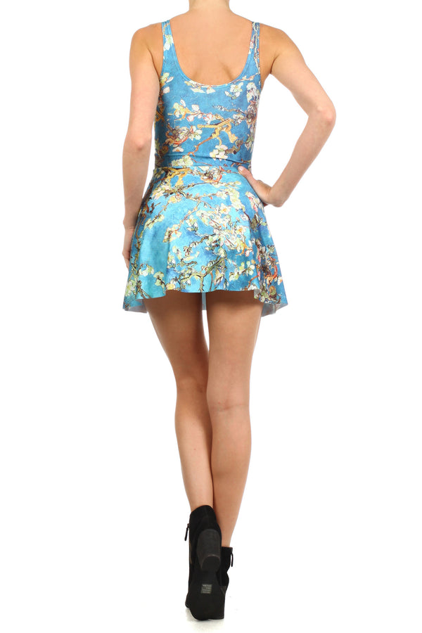 Almond Blossom Skater Dress - POPRAGEOUS  - 4