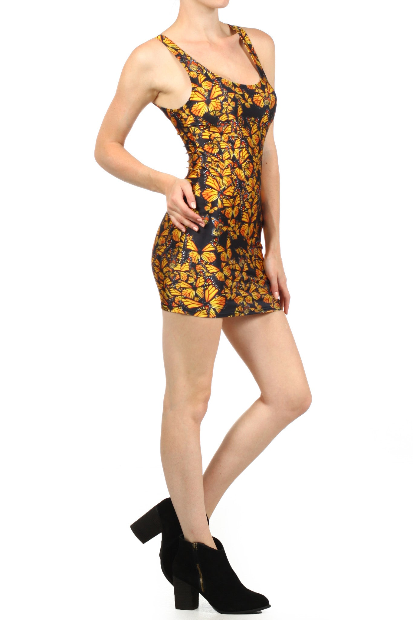 Attack of the Monarchs Bodycon Dress - POPRAGEOUS  - 3