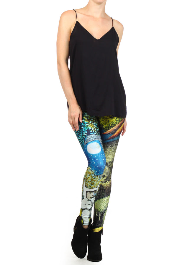 Wild Things Leggings - POPRAGEOUS  - 1