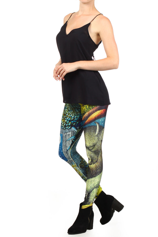 Wild Things Leggings - POPRAGEOUS  - 2