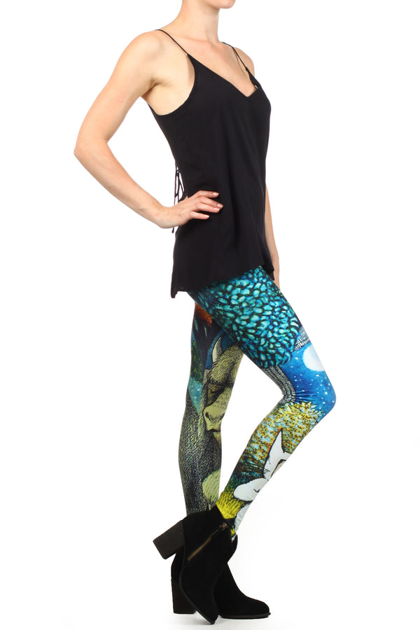 Wild Things Leggings - POPRAGEOUS  - 3