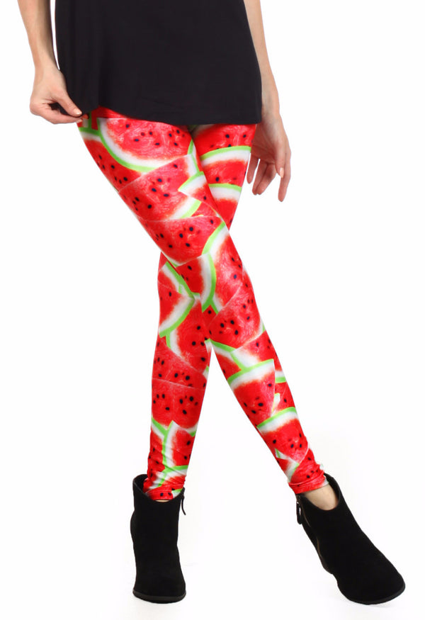 Watermelon Leggings - POPRAGEOUS  - 1