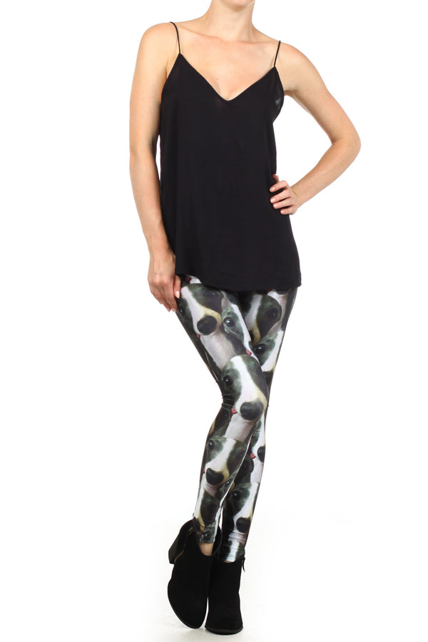 Italian Greyhound Iggy Leggings - POPRAGEOUS  - 1