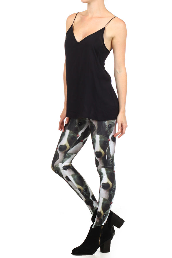 Italian Greyhound Iggy Leggings - POPRAGEOUS  - 2