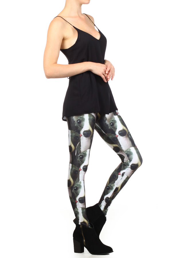 Italian Greyhound Iggy Leggings - POPRAGEOUS  - 3