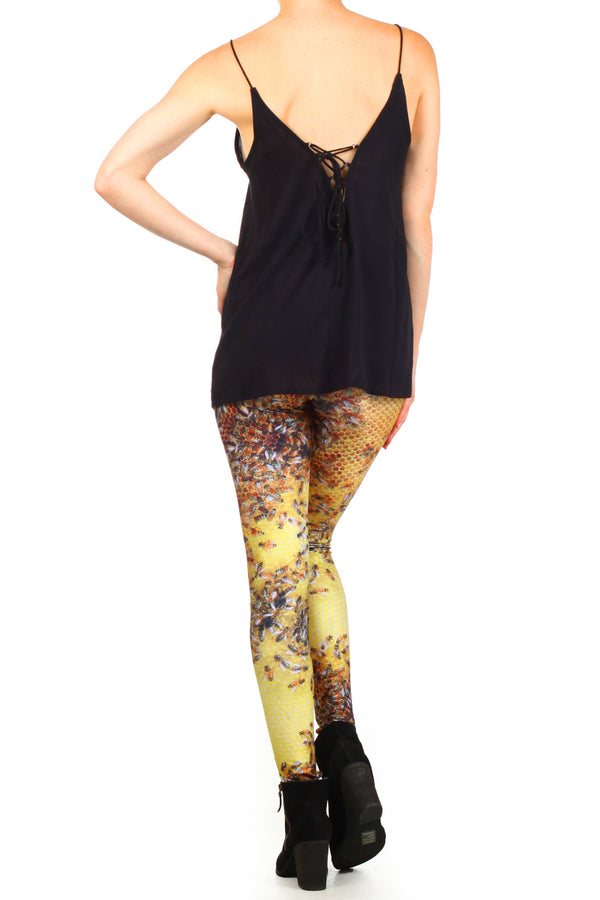 Honeybee Leggings - POPRAGEOUS  - 4