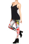 Flamingo Airstream Leggings - POPRAGEOUS  - 2
