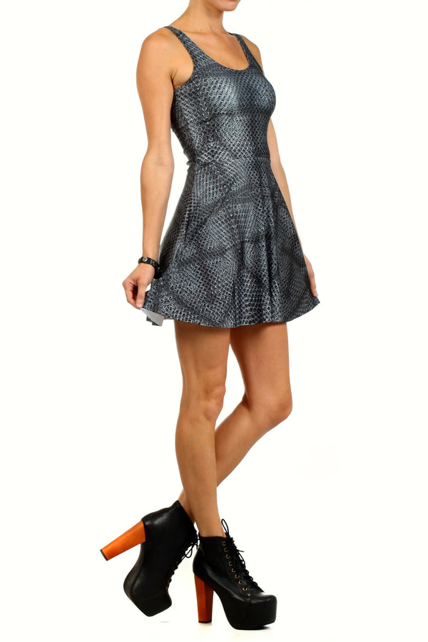 Chainmail Skater Dress - POPRAGEOUS  - 3