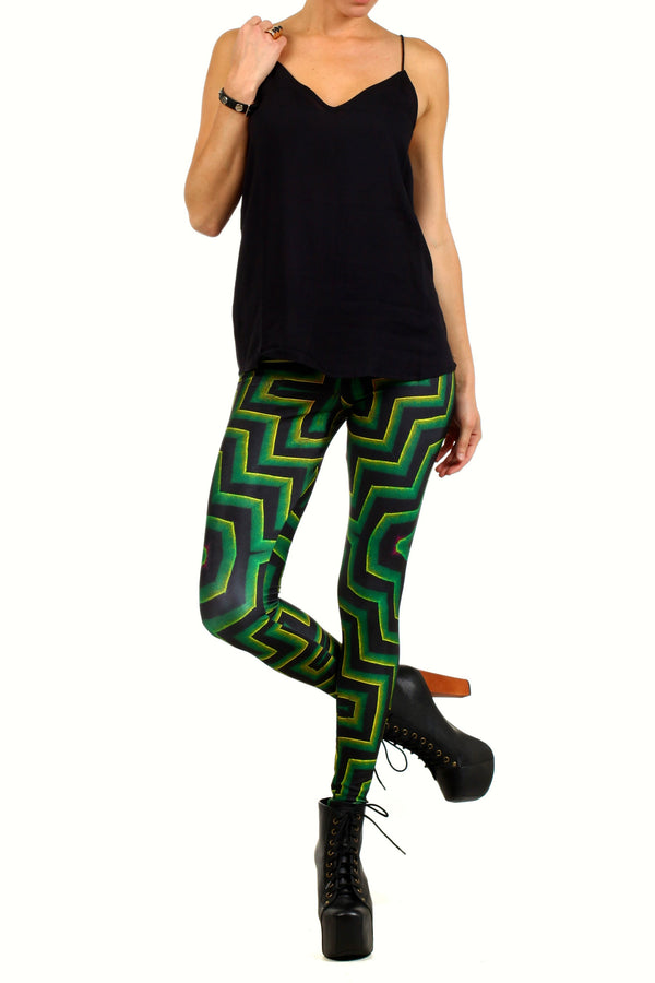 Labyrinth Leggings - POPRAGEOUS  - 1