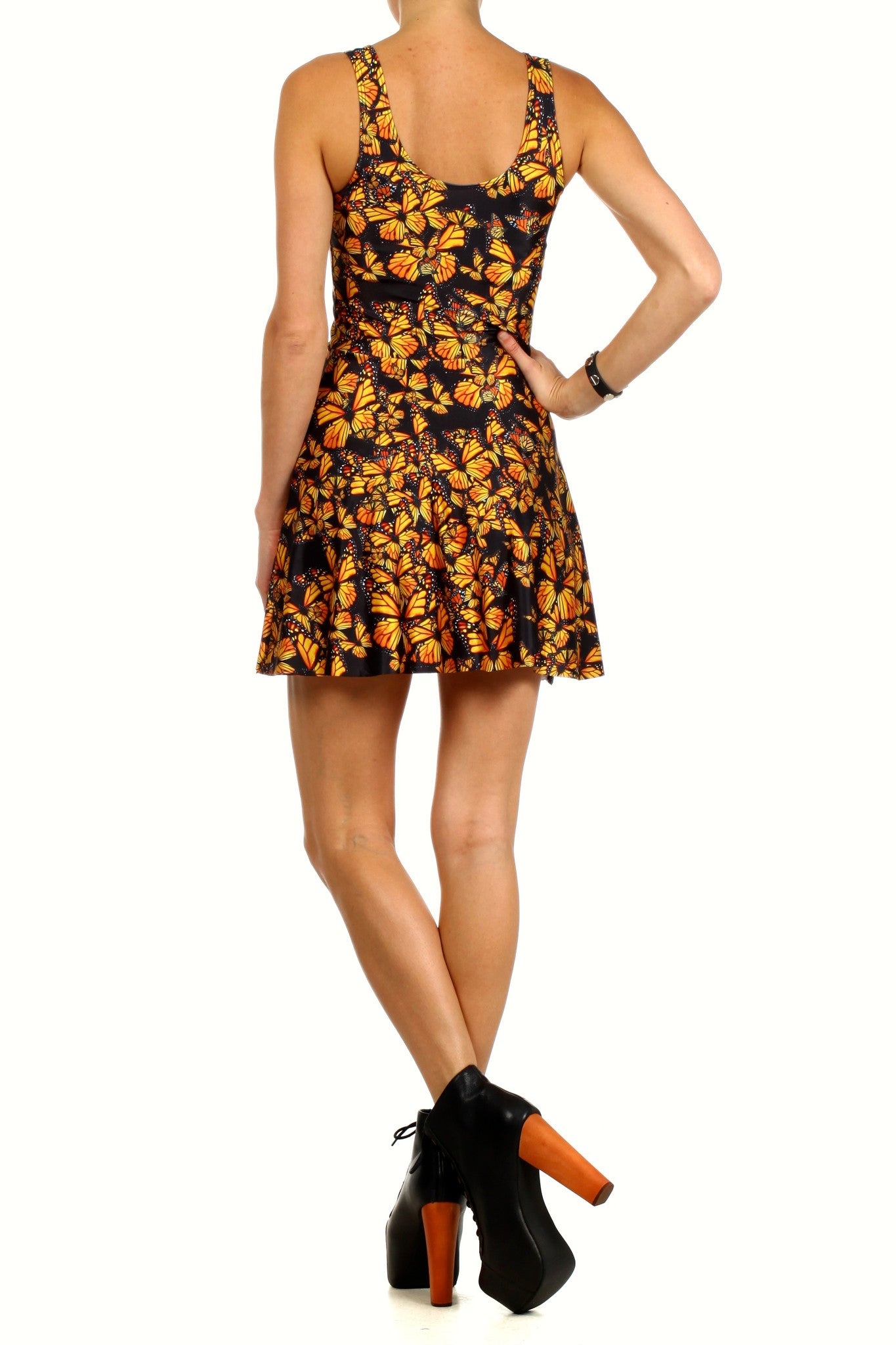 Attack of the Monarchs Skater Dress - POPRAGEOUS  - 4