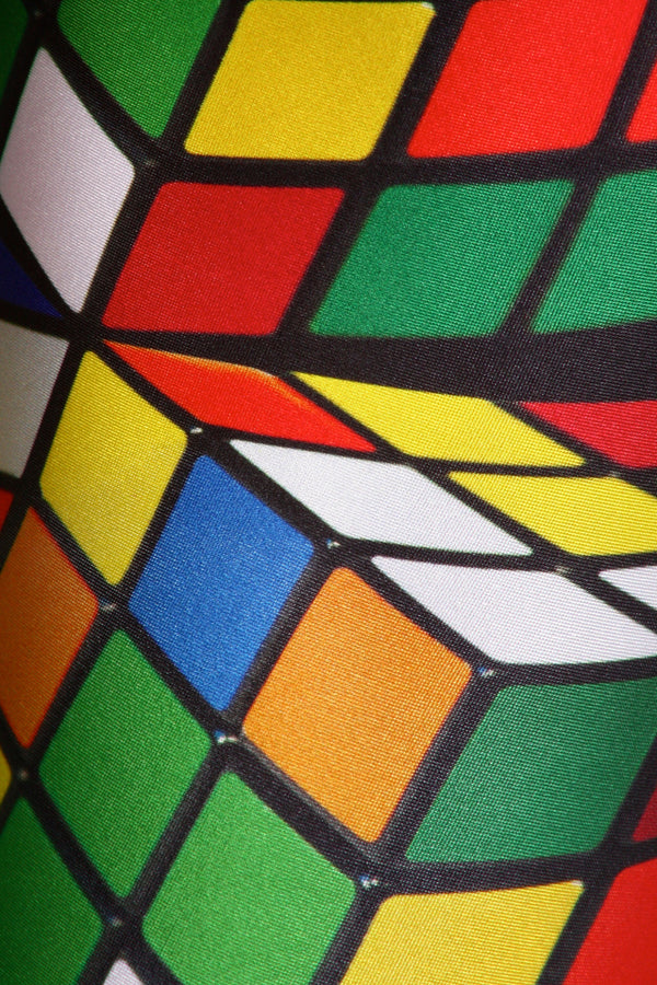 Rubix Cube Leggings - POPRAGEOUS  - 5