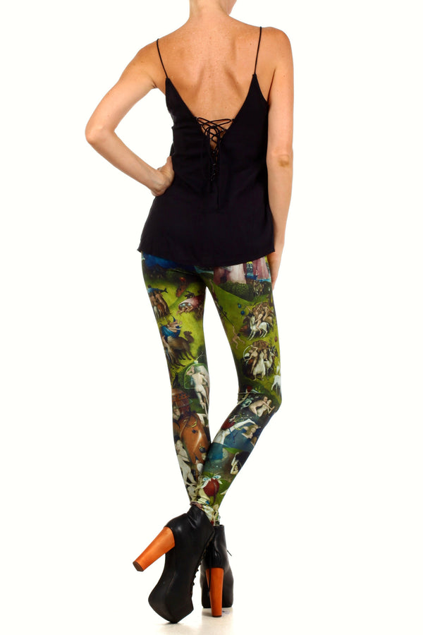 Garden of Earthly Delights Leggings - POPRAGEOUS  - 4