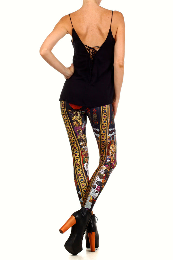 Marriage Procession Leggings - POPRAGEOUS  - 5