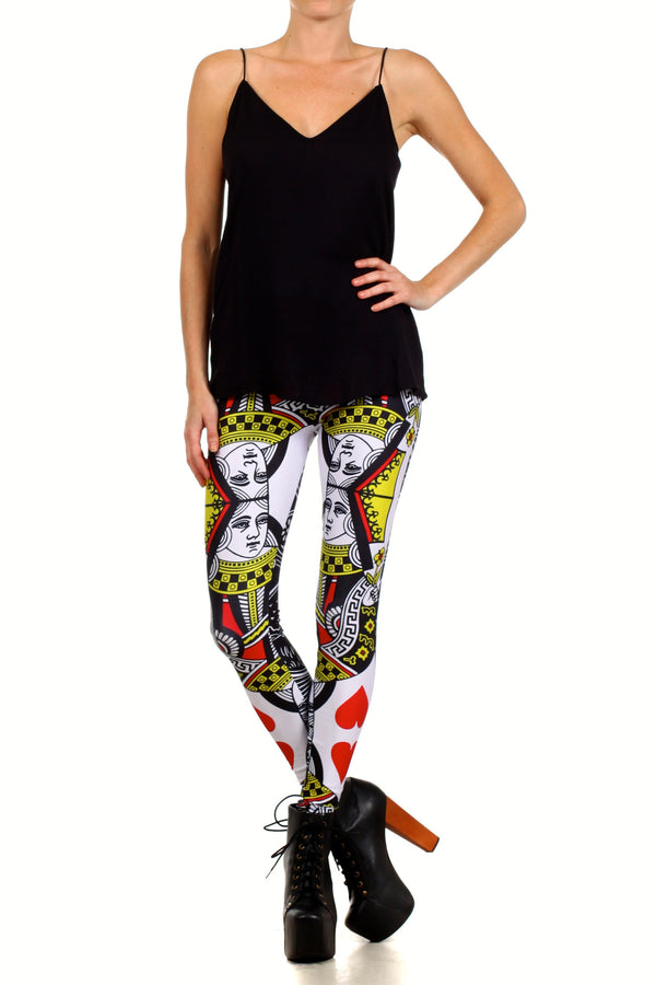 Queen Leggings - POPRAGEOUS  - 1