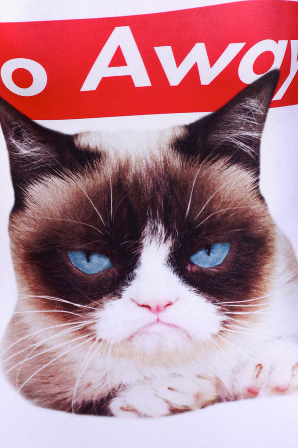 Grumpy Cat: Go Away One-Piece Swim - POPRAGEOUS  - 5