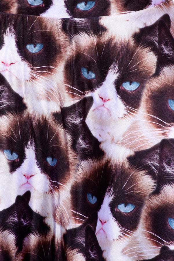 Grumpy Cat Skater Skirt - POPRAGEOUS  - 5