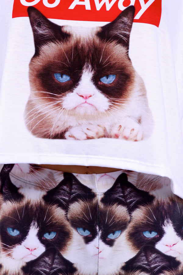 Grumpy Cat Leggings - POPRAGEOUS  - 5