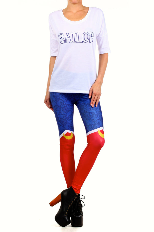 Sailor Boots Leggings - POPRAGEOUS  - 1