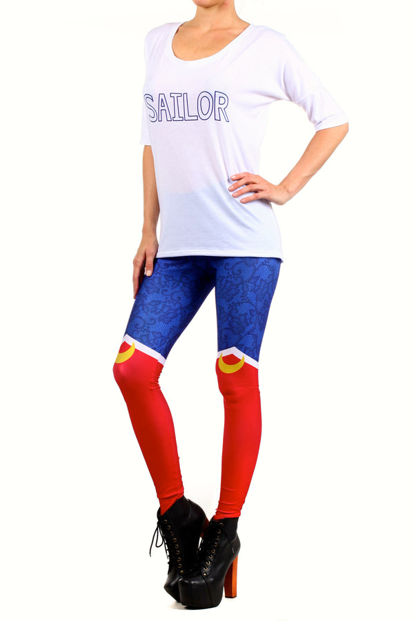 Sailor Boots Leggings - POPRAGEOUS  - 2