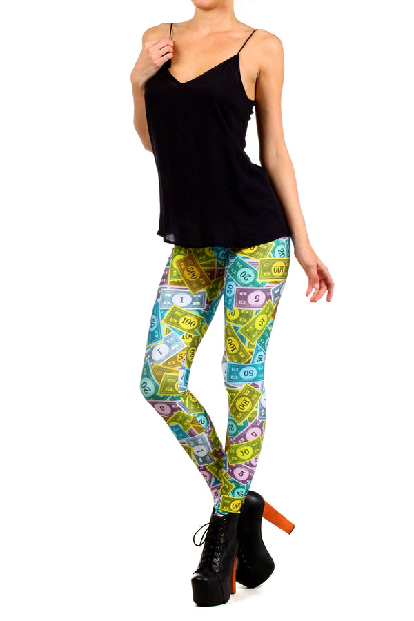 Monopoly Leggings - POPRAGEOUS  - 2