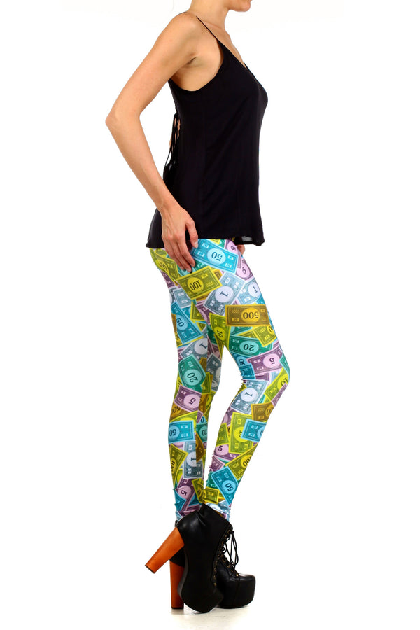 Monopoly Leggings - POPRAGEOUS  - 3