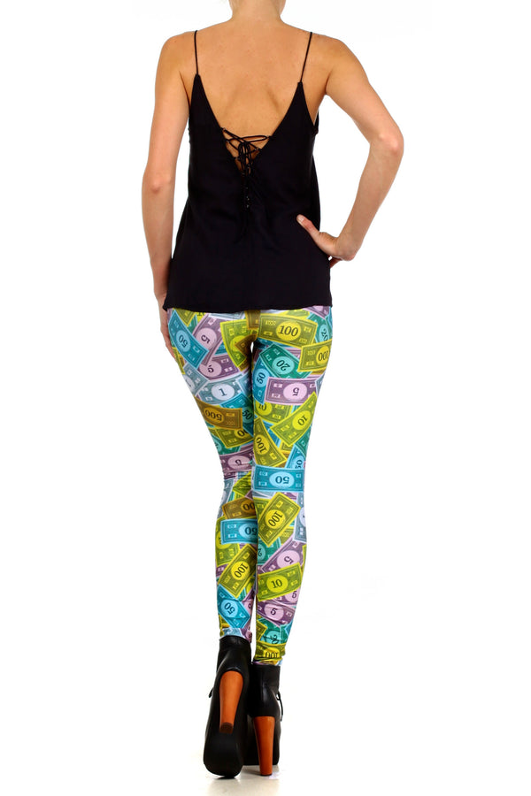 Monopoly Leggings - POPRAGEOUS  - 4