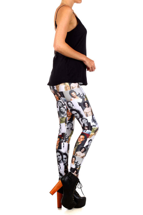 Jon Snow Leggings - LIMITED - POPRAGEOUS  - 3