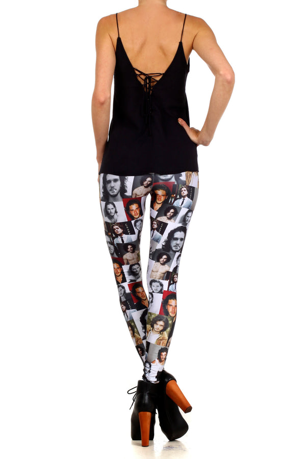 Jon Snow Leggings - LIMITED - POPRAGEOUS  - 4