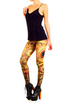 Kashmiri Jeweled Tapestry Leggings - POPRAGEOUS  - 2