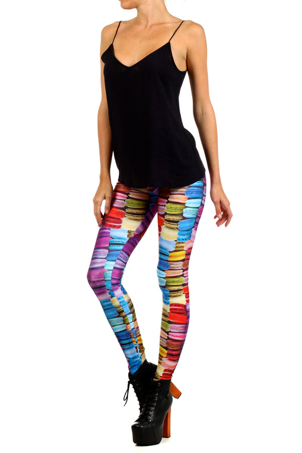 Macarons Leggings - POPRAGEOUS  - 2