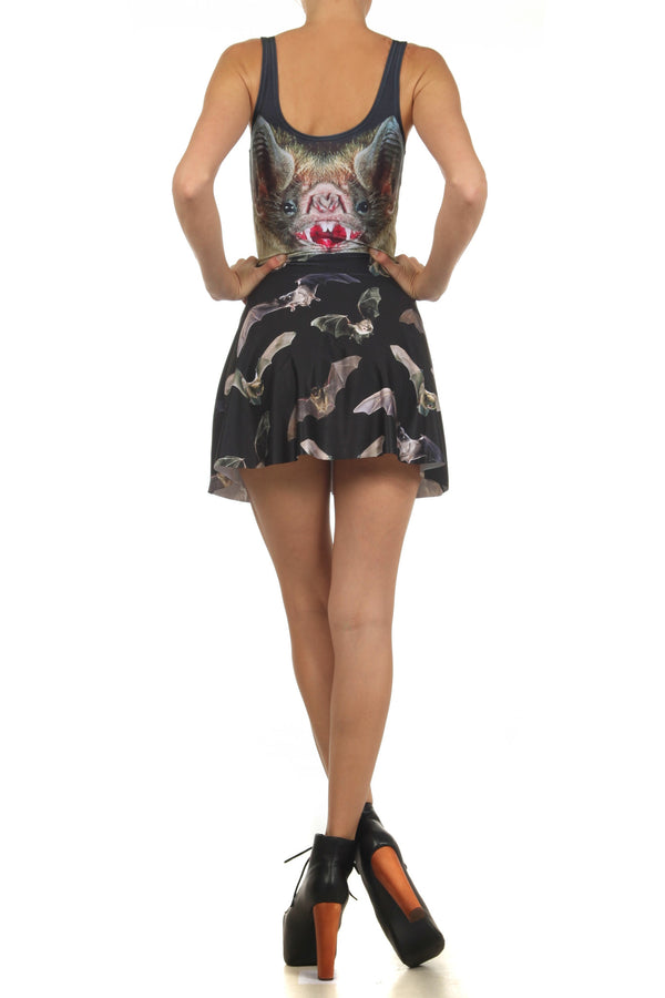 Vampire Bat Skater Dress - POPRAGEOUS  - 4