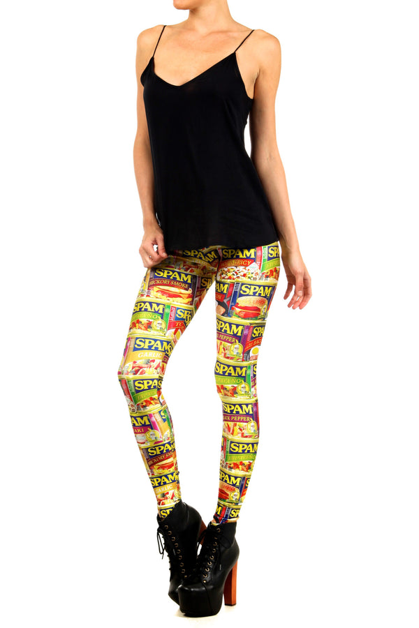 SPAM Leggings - POPRAGEOUS  - 2