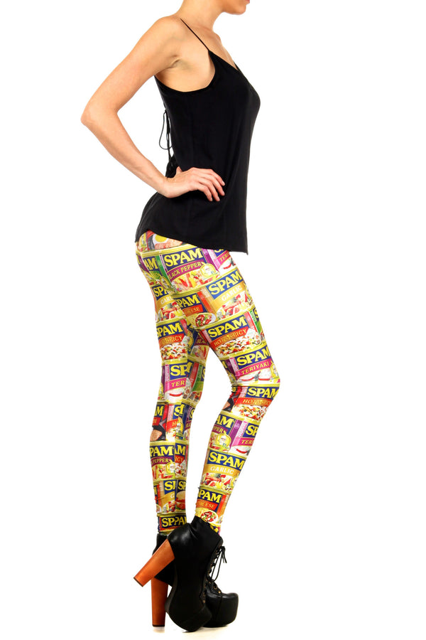SPAM Leggings - POPRAGEOUS  - 3
