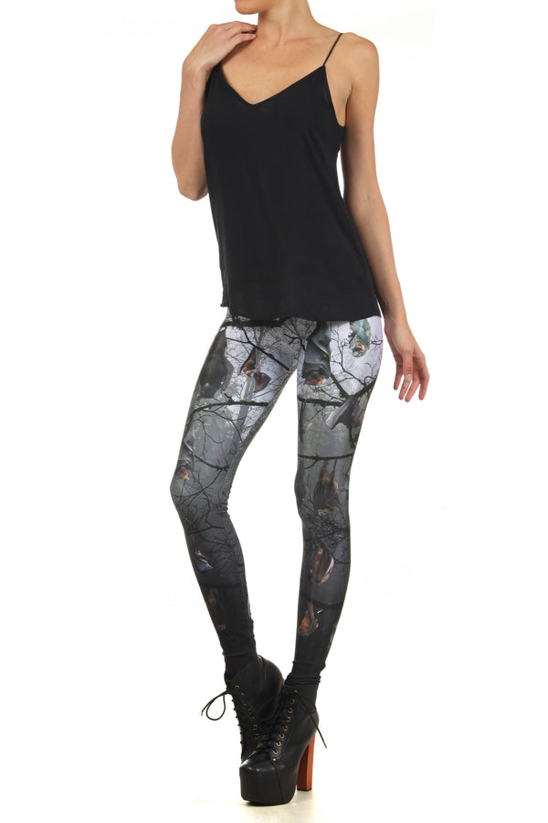 Bats Leggings - POPRAGEOUS  - 2