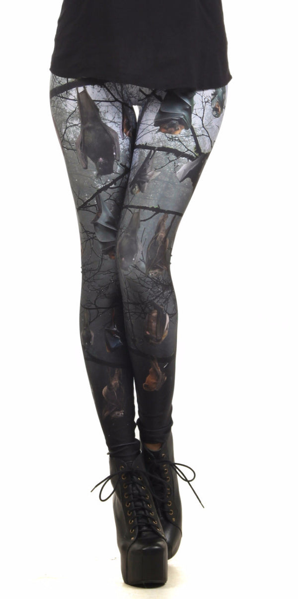 Bats Leggings - POPRAGEOUS  - 1