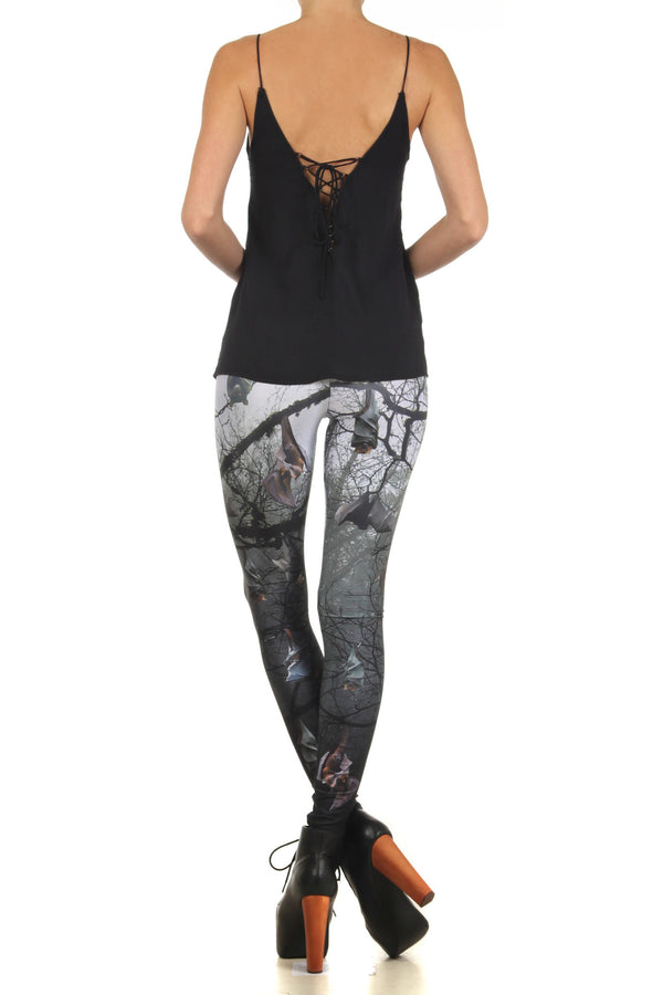 Bats Leggings - POPRAGEOUS  - 4