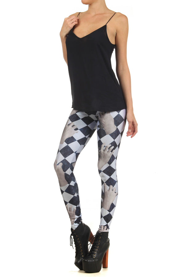 Dead Hand Leggings - POPRAGEOUS  - 2