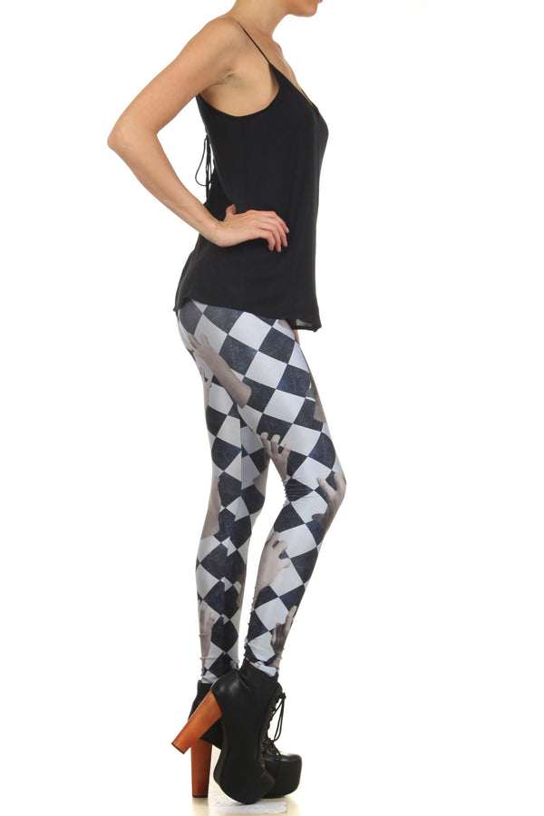 Dead Hand Leggings - POPRAGEOUS  - 3