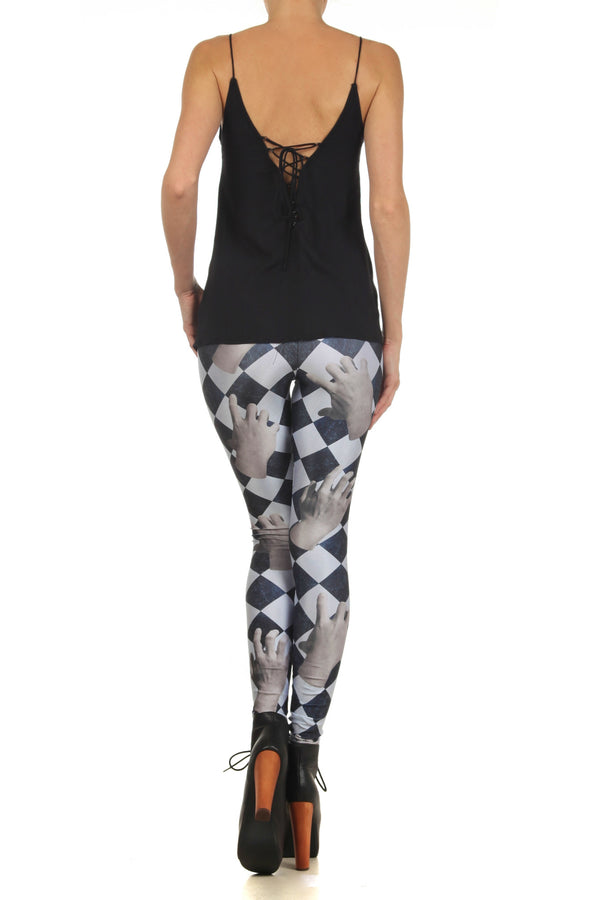 Dead Hand Leggings - POPRAGEOUS  - 4