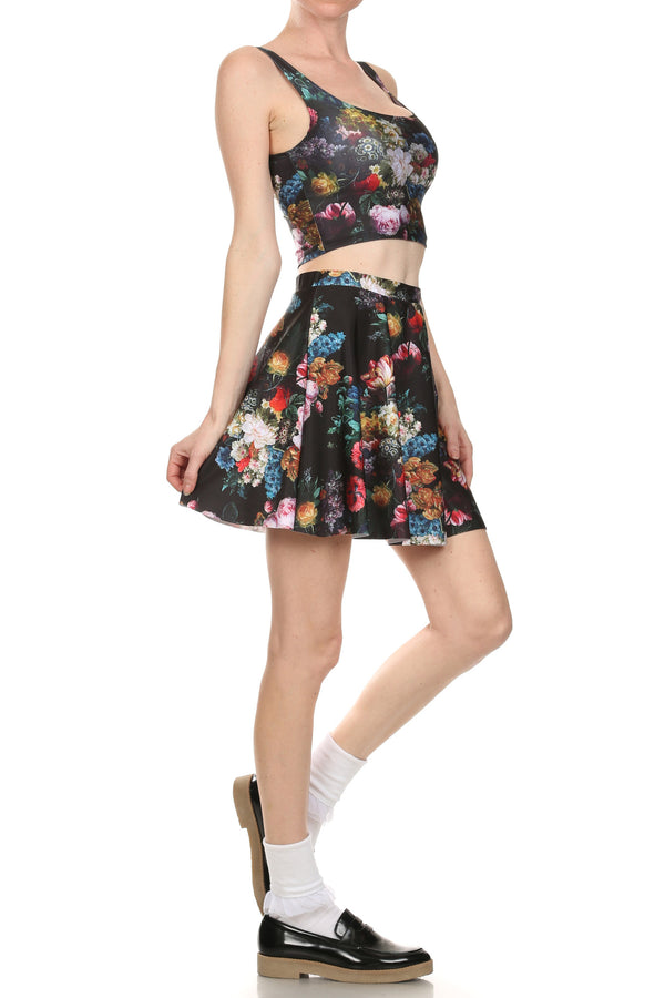 Brussel Floral Crop Top - POPRAGEOUS  - 3