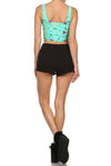 90's Crop Top - Mint - POPRAGEOUS  - 4