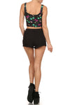 90's Crop Top - Black - POPRAGEOUS  - 4
