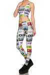 Cassette Tape Leggings - POPRAGEOUS  - 2