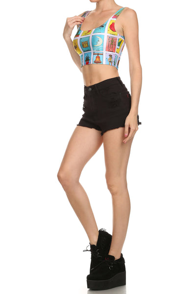 551b5a72d023e3 Los Angeles Baseball Tee Sold Out. Loteria Crop Top - POPRAGEOUS - 1 ·  Loteria Crop Top