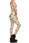 Peach Leggings - POPRAGEOUS  - 3