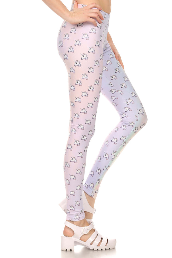 Unicorn Emoji Leggings - POPRAGEOUS  - 2