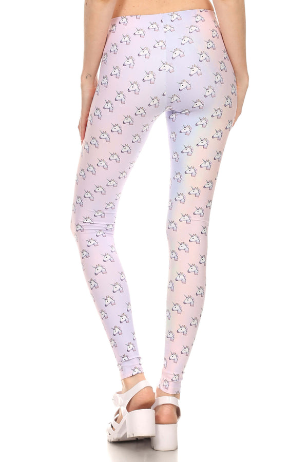 Unicorn Emoji Leggings - POPRAGEOUS  - 3